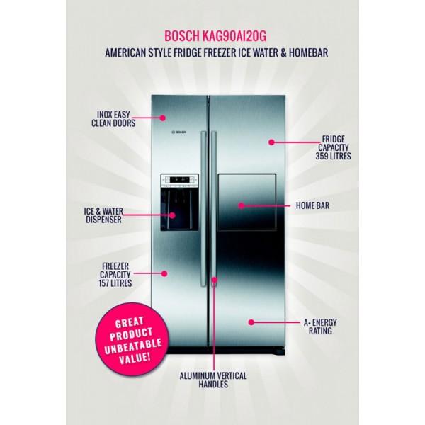 tủ lạnh bosch KAG90AI20G 539.16.250