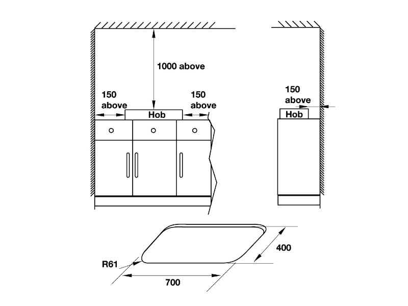 bản vẽ kỹ thuật bếp gas hafele 495.06.053 HC-G802C