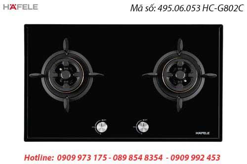 BẾP GAS HAFELE 2 VÙNG NẤU HC-G802C 495.06.053