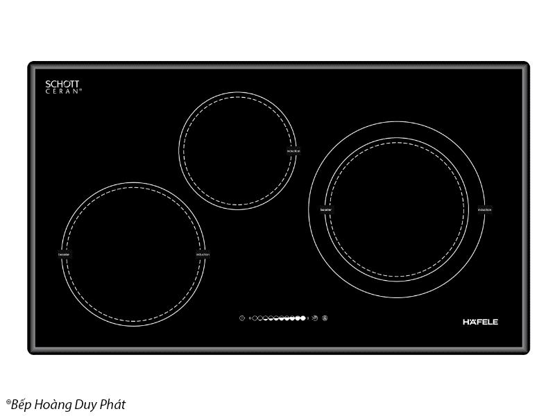 Tìm hiểu về bếp từ hafele