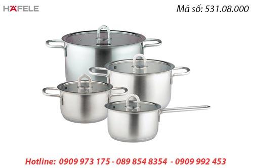 Bộ nồi bếp từ Hafele 531.08.000