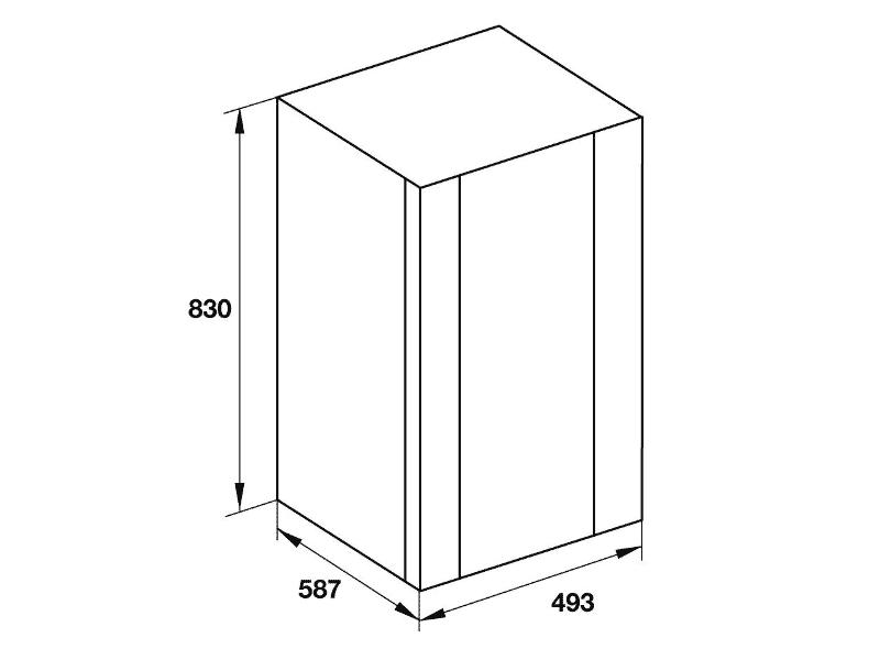 bản vẽ kỹ thuật tủ rượt hafele 534.16.960