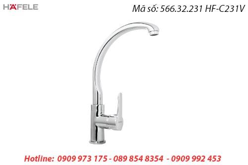 Vòi rửa chén inox hafele 566.32.231 HF-C231V