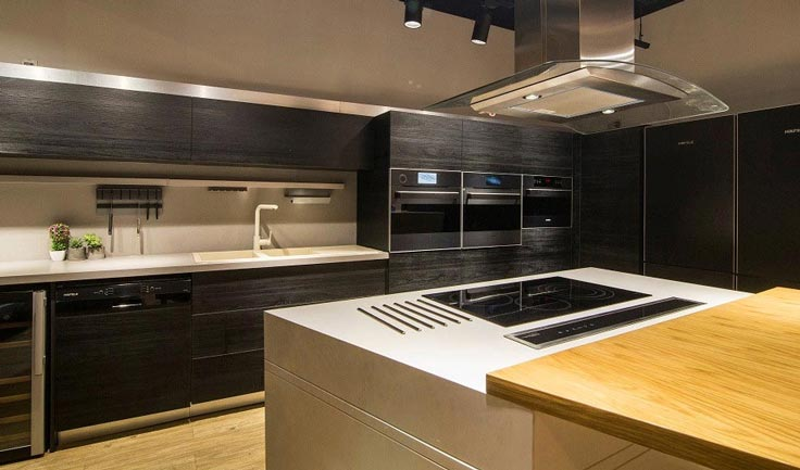 Không gian bếp hafele