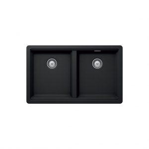 Chậu đá màu đen Hafele 750mm HS-GD7545 570.30.310