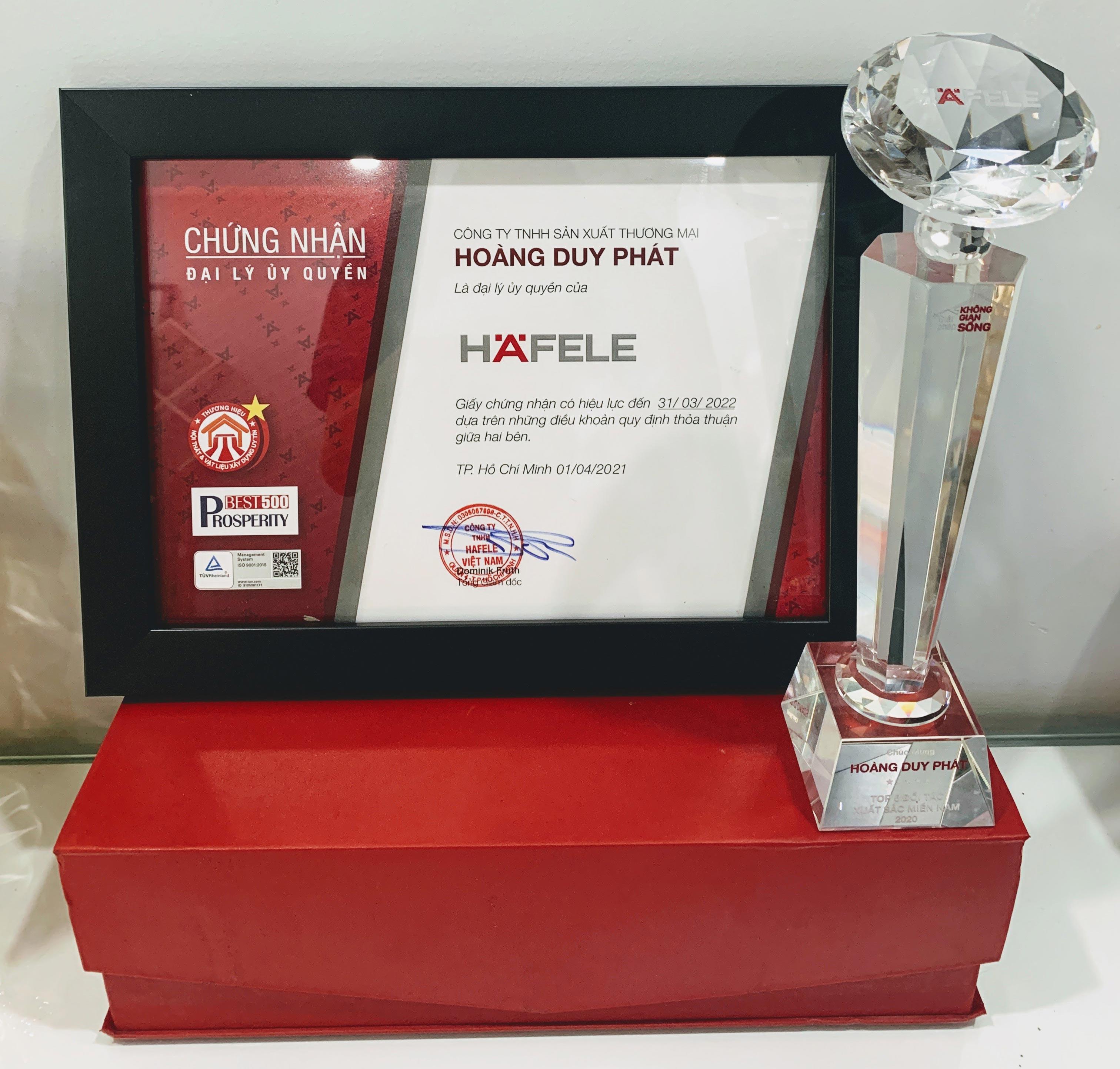 Chung Nhan Dai Ly Hafele 2020 2021 900x653px